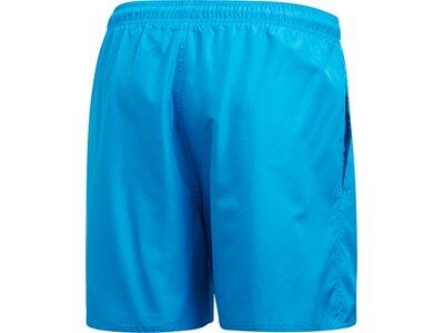 adidas Herren CLX Solid Schwimmen Badeshorts Blau
