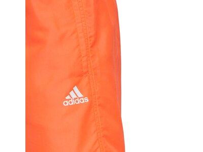 adidas Herren CLX Solid Schwimmen Badeshorts Orange