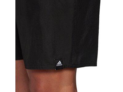 adidas Herren Bold 3-Streifen CLX Badeshorts Schwarz