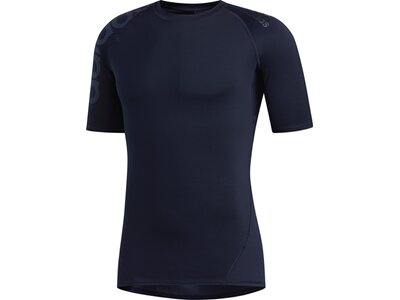 ADIDAS Herren T-Shirt Alphaskin Badge of Sport Schwarz