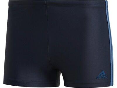 adidas Herren 3-Streifen Schwimmen Sport Boxer-Badehose Schwarz