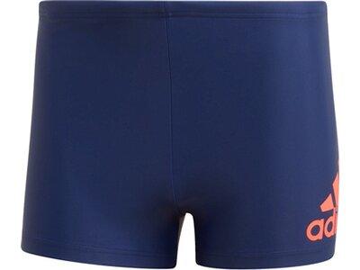 adidas Herren Fitness Schwimmen Sport Boxer-Badehose Blau