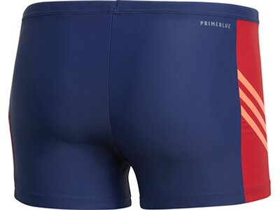 adidas Herren Fitness Three-Second Boxer-Badehose Blau