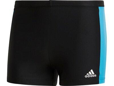 adidas Herren Fitness Three-Second Boxer-Badehose Schwarz