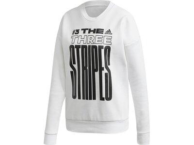 adidas Damen Must Haves Graphic Sweatshirt Grau