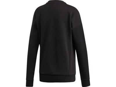 adidas Damen Must Haves Graphic Sweatshirt Schwarz