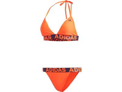 adidas Damen Beach Bikini Orange