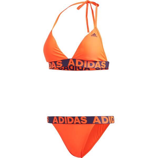 Bademode - adidas Damen Beach Bikini › Orange  - Onlineshop Intersport