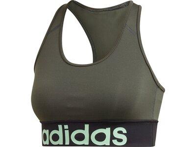 ADIDAS Damen Design 2 Move Logo Sport-BH Grau