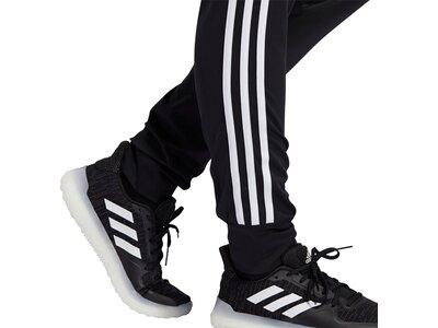 ADIDAS Damen Sporthose CUFFED 3S Schwarz