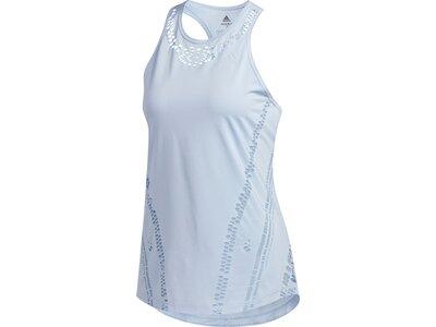adidas Damen Primeblue Tanktop Blau