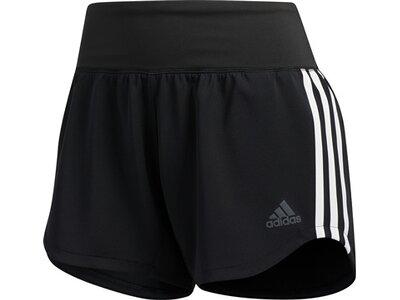 ADIDAS Damen Shorts 3S WVN GYM Schwarz