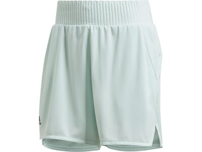 adidas Damen Club Hi-Rise Shorts Silber