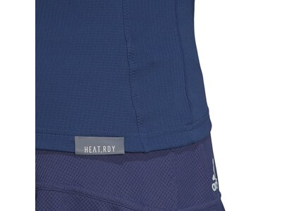 ADIDAS Damen Shirt 3/4TOP HEAT.RDY Blau