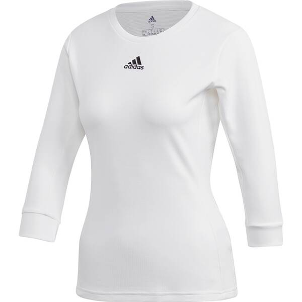 ADIDAS Damen Shirt 3/4 HEAT.RDY