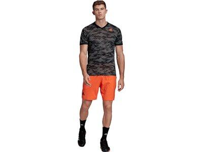 adidas Herren FreeLift Primeblue T-Shirt Schwarz