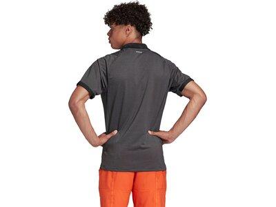 adidas Herren FreeLift Primeblue Poloshirt Grau