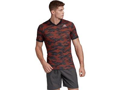 adidas Herren FreeLift Primeblue T-Shirt Grau