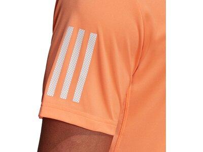 adidas Herren 3-Streifen Club Poloshirt Braun