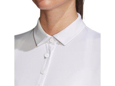 adidas Damen Club 3-Streifen Poloshirt Grau