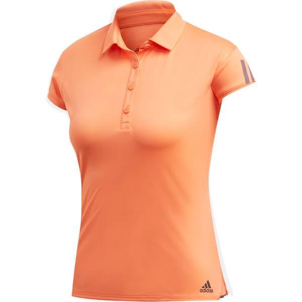 adidas Damen Club 3-Streifen Poloshirt