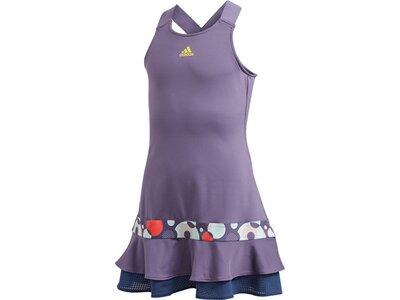 """ADIDAS Mädchen Tennis Kleid """"Frill Dress"""" zweiteilig Grau"""