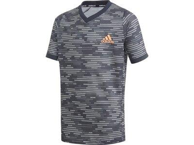 ADIDAS Kinder Shirt B FLFT T PBLUE Grau