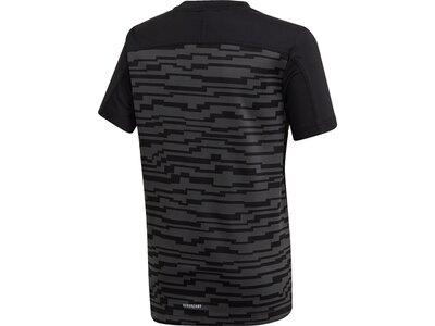 ADIDAS Kinder Shirt TR KNIT Schwarz