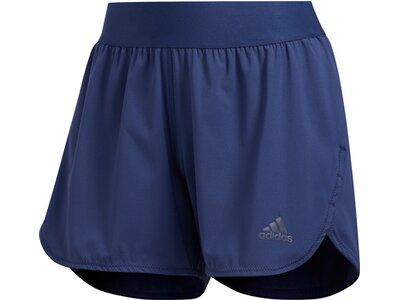 adidas Damen Heat.Rdy Training Shorts kurze Sporthose Blau