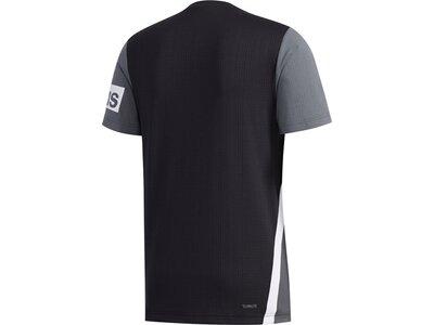 adidas Herren AEROREADY Colorblock T-Shirt Schwarz
