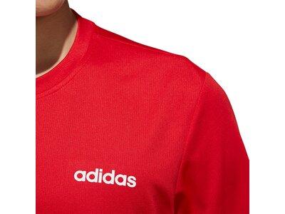 adidas Herren Designed 2 Move Plain T-Shirt Rot