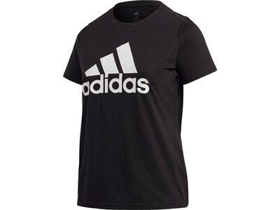 adidas Damen Must Haves Badge of Sport T-Shirt – Große Größen Schwarz