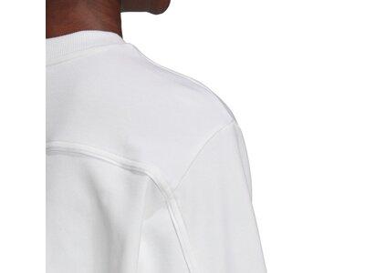 adidas Damen Pleated Sweatshirt Grau
