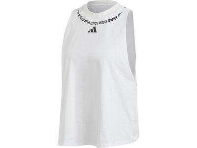 ADIDAS Damen Shirt SL Graph Grau