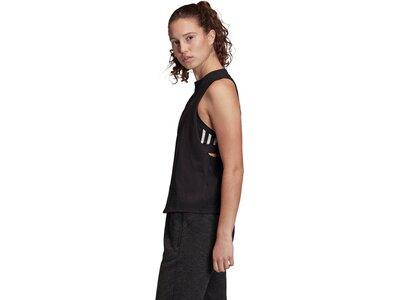 ADIDAS Damen Shirt SL Graph Schwarz