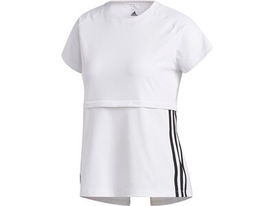 ADIDAS Damen Shirt 3S CAP SLV Pink