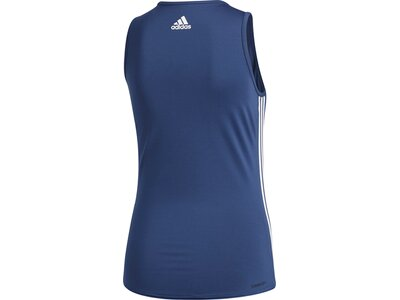 ADIDAS Damen Shirt 3S SCOOP Blau
