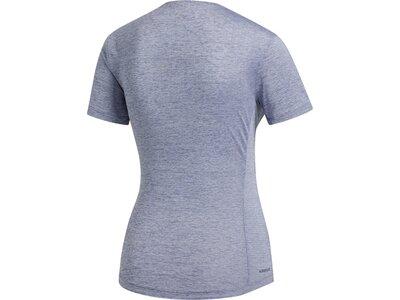 adidas Damen Performance Tee Aeroready Sport T-Shirt Grau