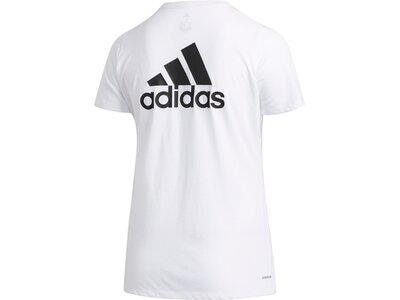adidas Damen Go To T-Shirt – Große Größen Weiß