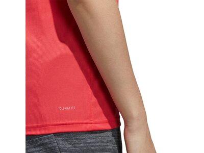 ADIDAS Damen Shirt W D2M SOLID T Rot