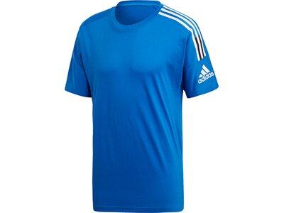 ADIDAS Herren Shirt ZNE Tee 3ST Blau