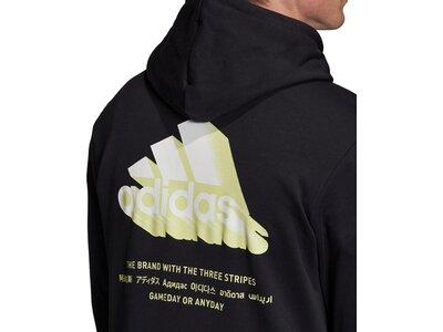 adidas Herren Must Haves Graphic Hoodie Schwarz