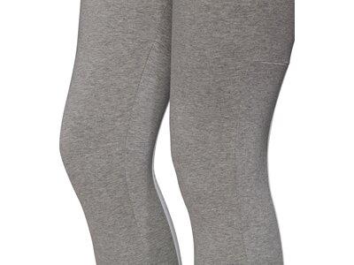 adidas Damen Must Haves 3-Streifen Tight Grau