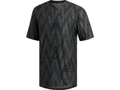 adidas Herren City Knit T-Shirt Schwarz