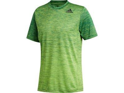 adidas Herren Tech Gradient Tee Aeroready Sport T-Shirt Grün