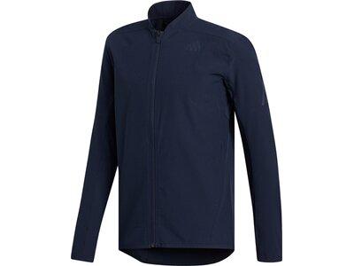 adidas Herren AEROREADY 3-Streifen Jacke Blau