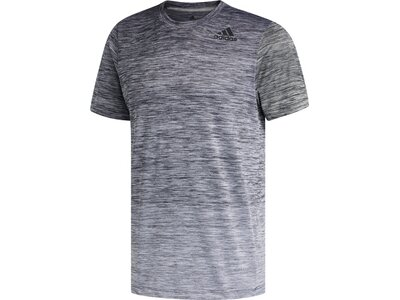 ADIDAS Herren Trainingsshirt Kurzarm Grau