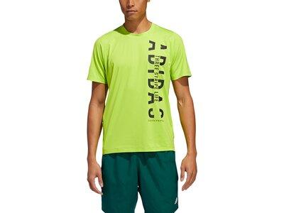 adidas Herren Hyper T-Shirt Grün