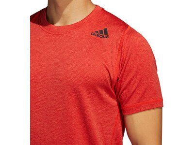 adidas Herren Freelift Tee Aeroready Sport T-Shirt Rot