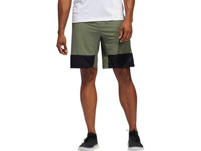 ADIDAS Herren Shorts 4K_TEC X LWV 10 Braun